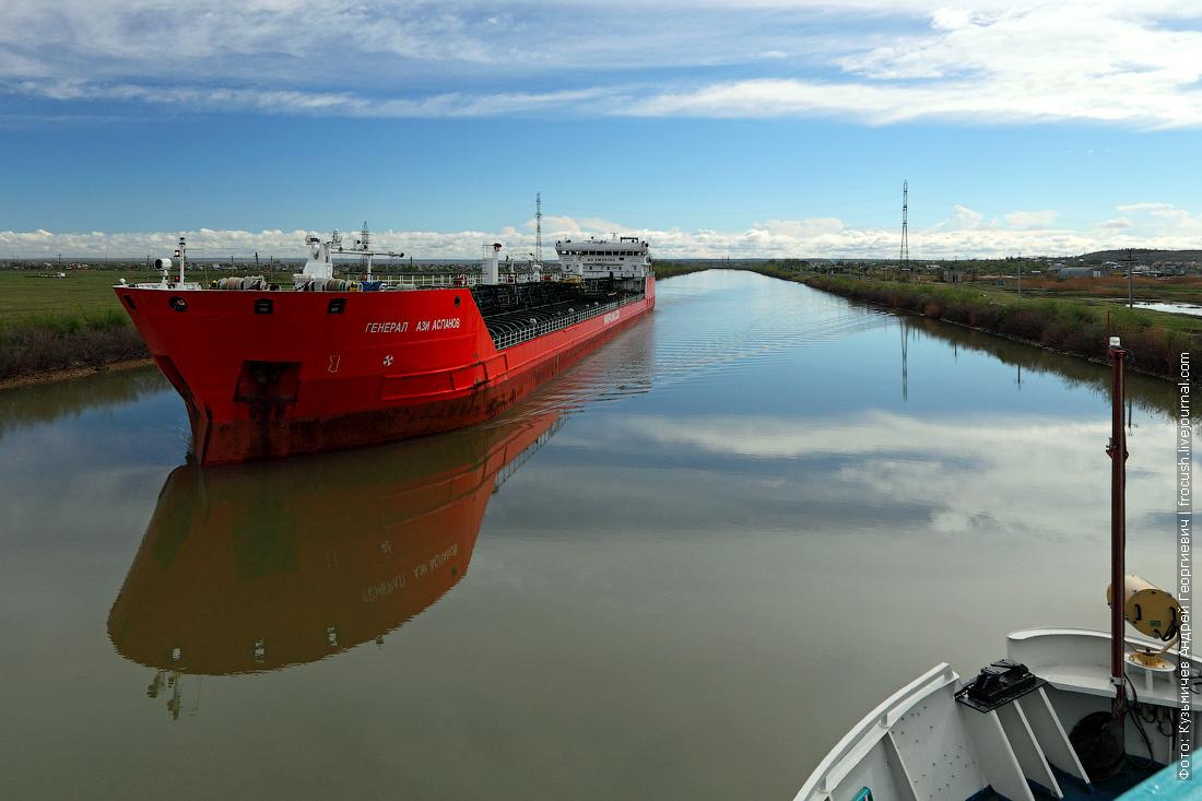От Дона к Волге танкеры идут пустыми
