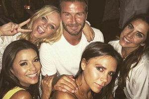 Группа Spice Girls собралась вместе на дне рождения Бекхэма