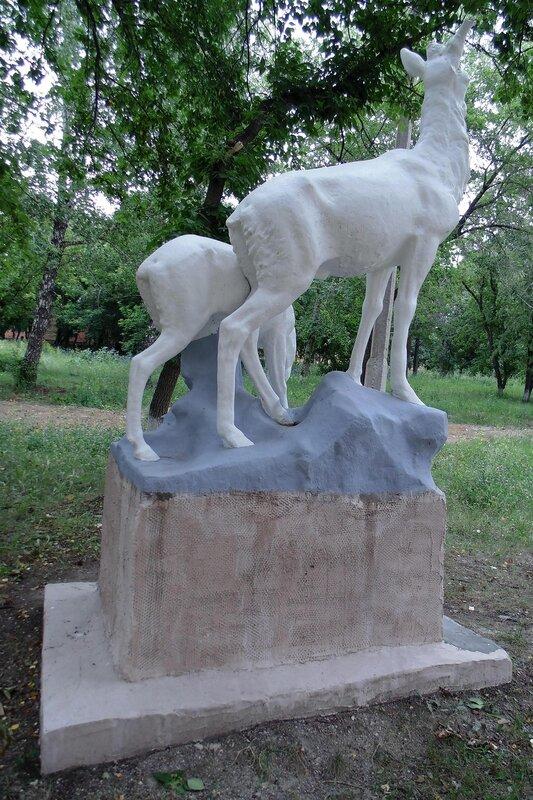"""Скульптура """"Олени"""""""
