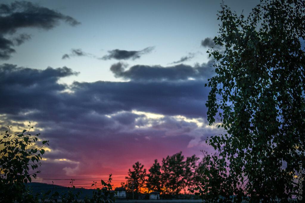 Златоустовский закат