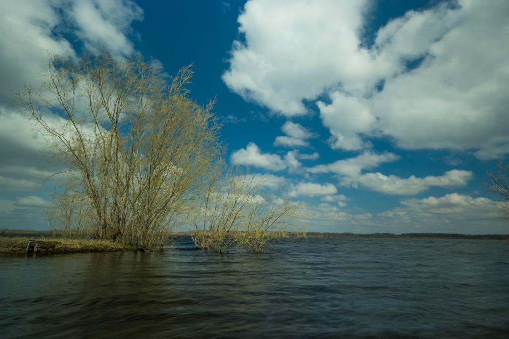 Большая вода на реке Вах