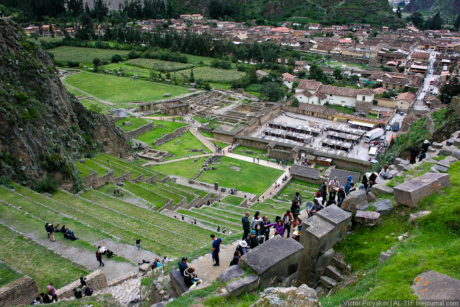Священная долина инков. Ollantaytambo