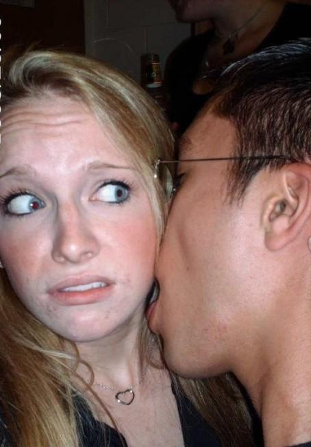 неудачный поцелуй