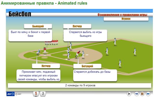 бейсбола чайников правила для