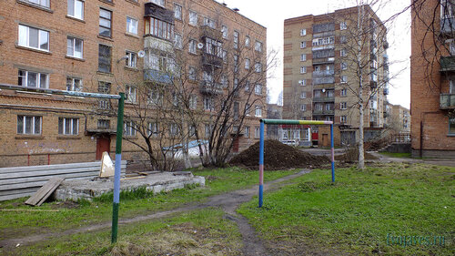 Фото города Инта №6817  Горького 17, 11 и 13 02.06.2014_16:28