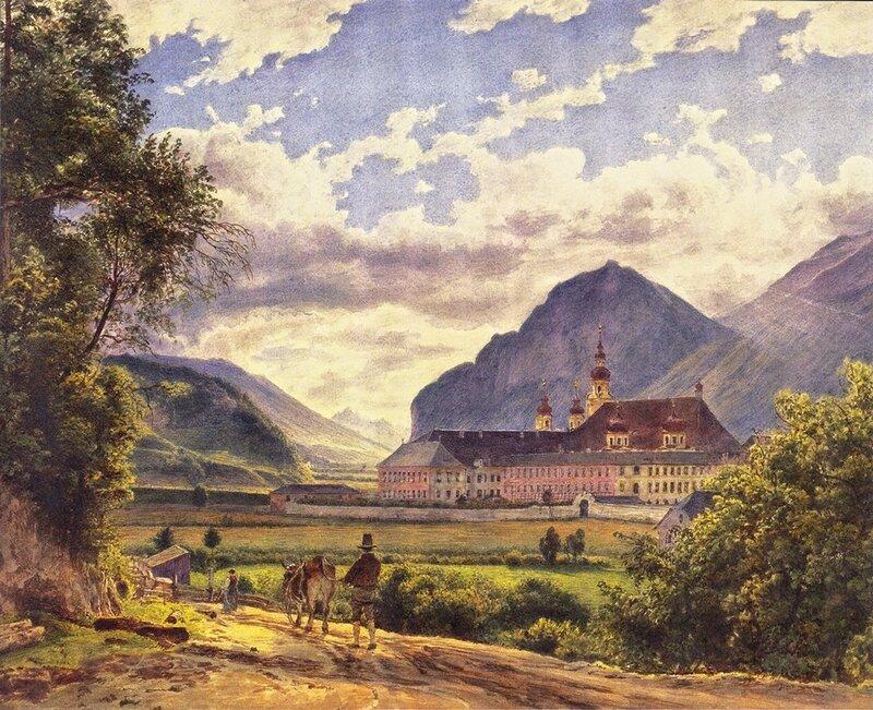 Монастырь в Инсбруке