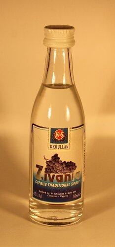 Настойка Kkoulas Zivania Cyprus Traditional Spirit