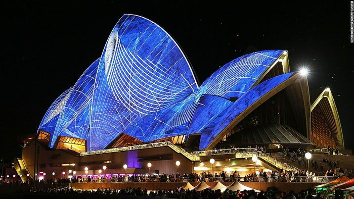 Фестиваль света и музыки «Vivid Sydney» / «Яркий Сидней»