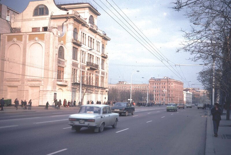 Москва 28.04.1982 - 1.05.1982