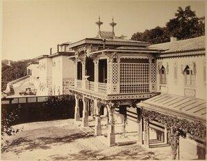 Вид Министерского дома и кухни близ Большого Императорского дворца (архитектор И.А.Монигетти, 1862-1864 гг).