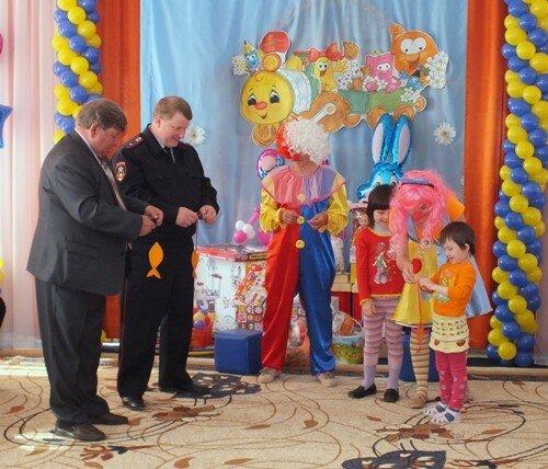 Акция куйбышевских полицейских в детсаду