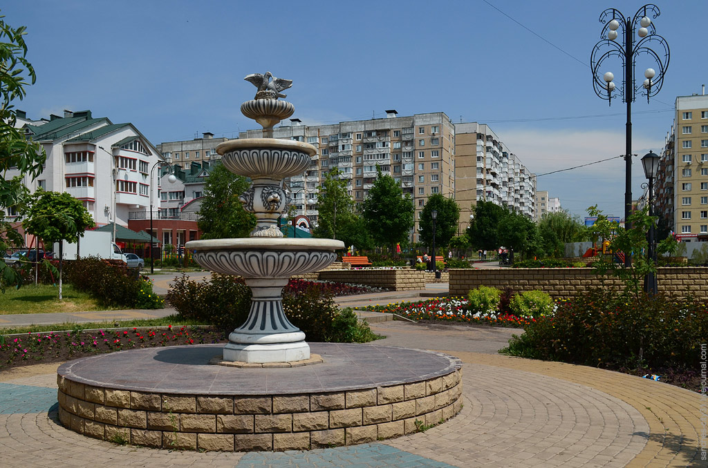 "фонтан ""Есенинский"", Белгород, фото Sanchess"