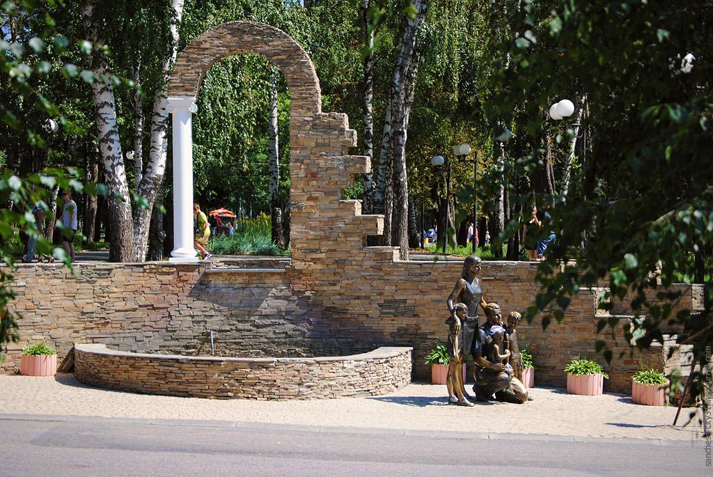 фонтан в парке Ленина, Белгород, фото Sanchess