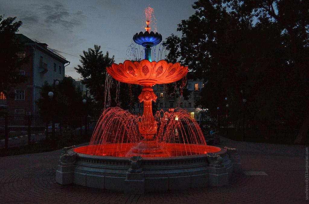 """фонтан """"Пасхальный"""", Белгород, фото Sanchess"""