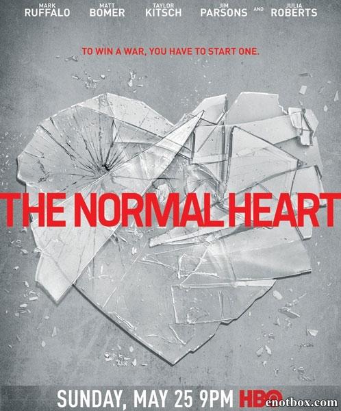 Обыкновенное сердце / The Normal Heart (2014/HDTV/HDTVRip)