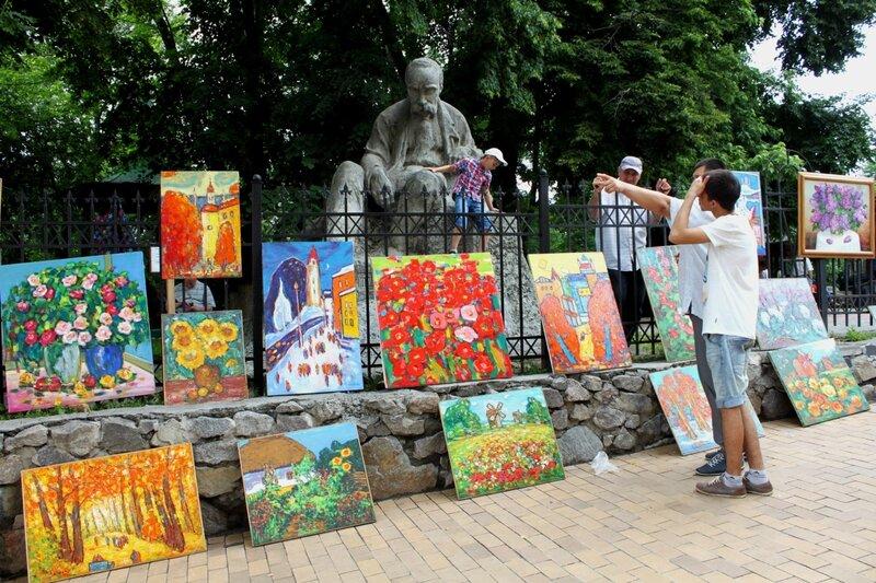 Выставка продажа живописи