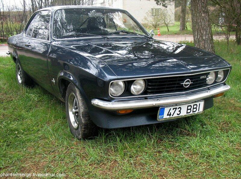 Opel Manta A (1970–1975)