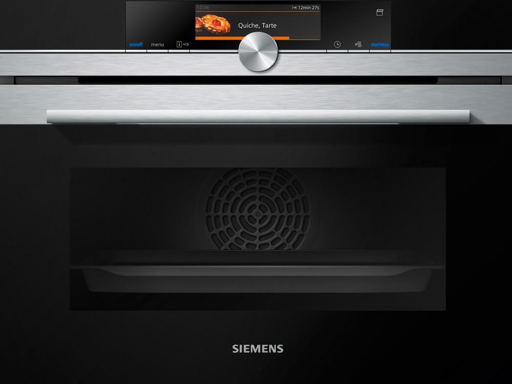 новая серия духовых шкафов Siemens