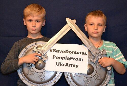#SaveDonbassPeopleFromUkrArmy