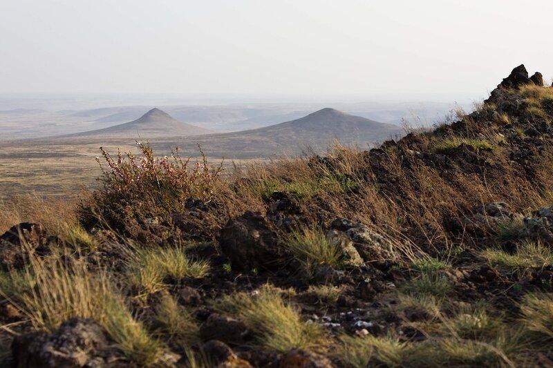 вулканическая зона Wulan Hada, Baiyinchagan volcano group