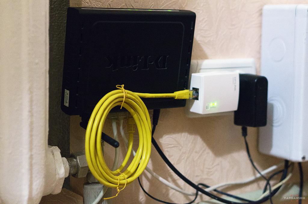 PowerLine Adapter TP-LINK Подключение