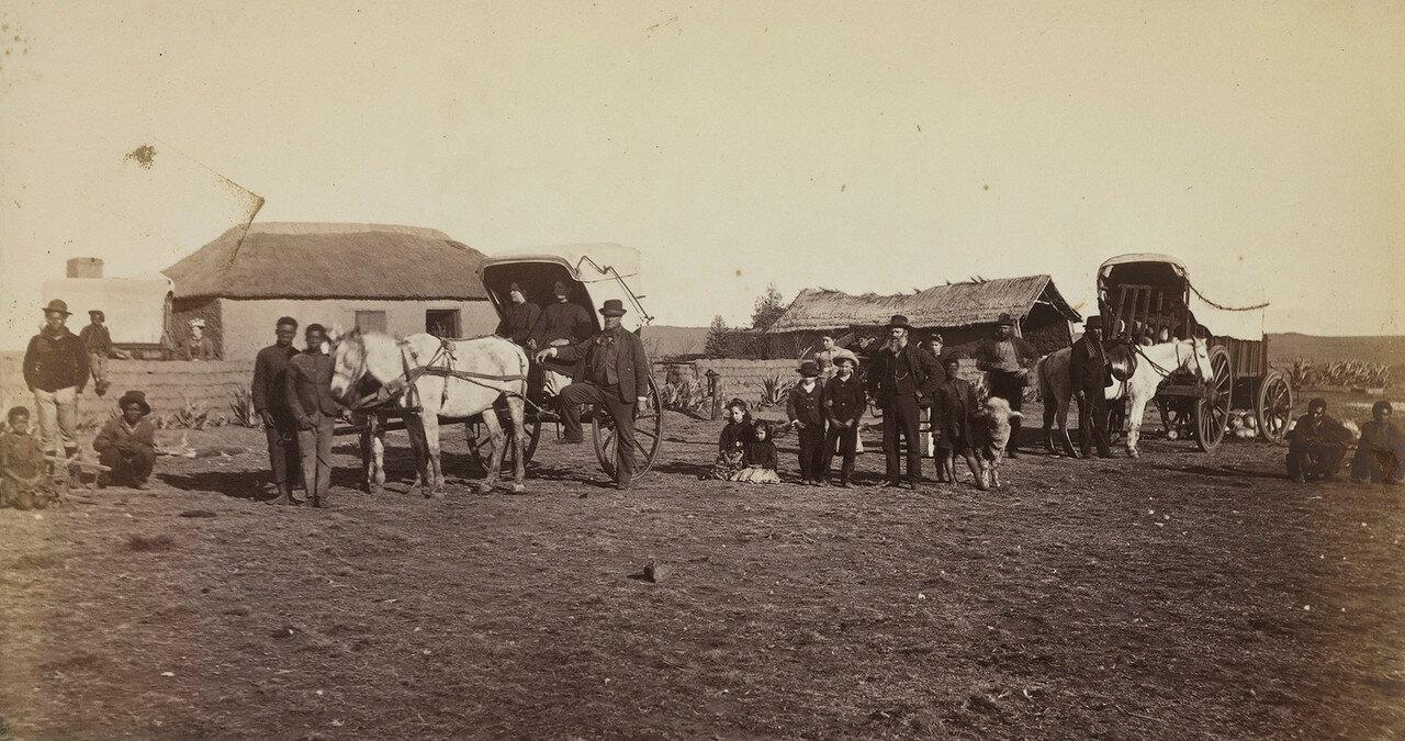 Сельскохозяйственные здания в колонии Наталь