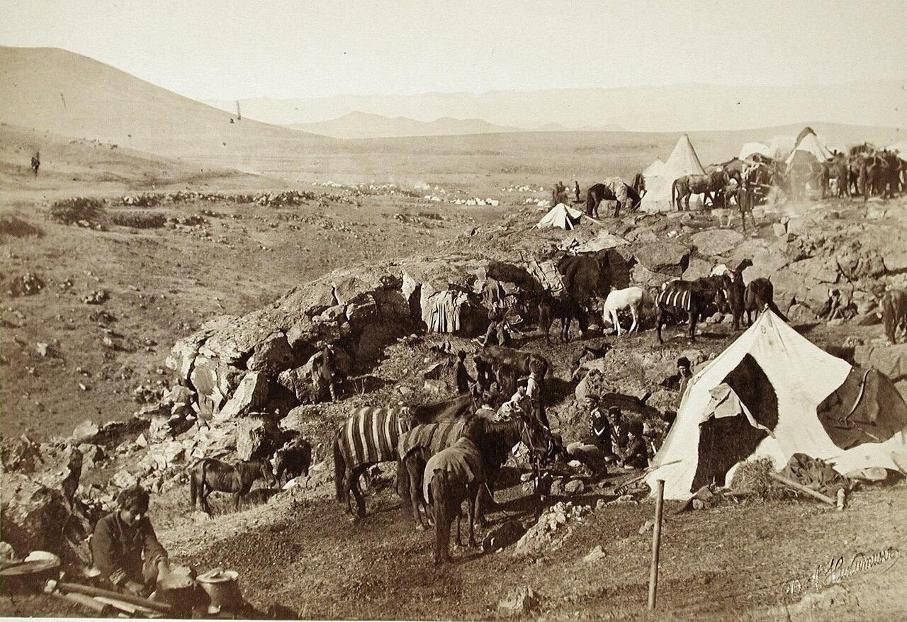 Бивак в Магараджинском ущелье