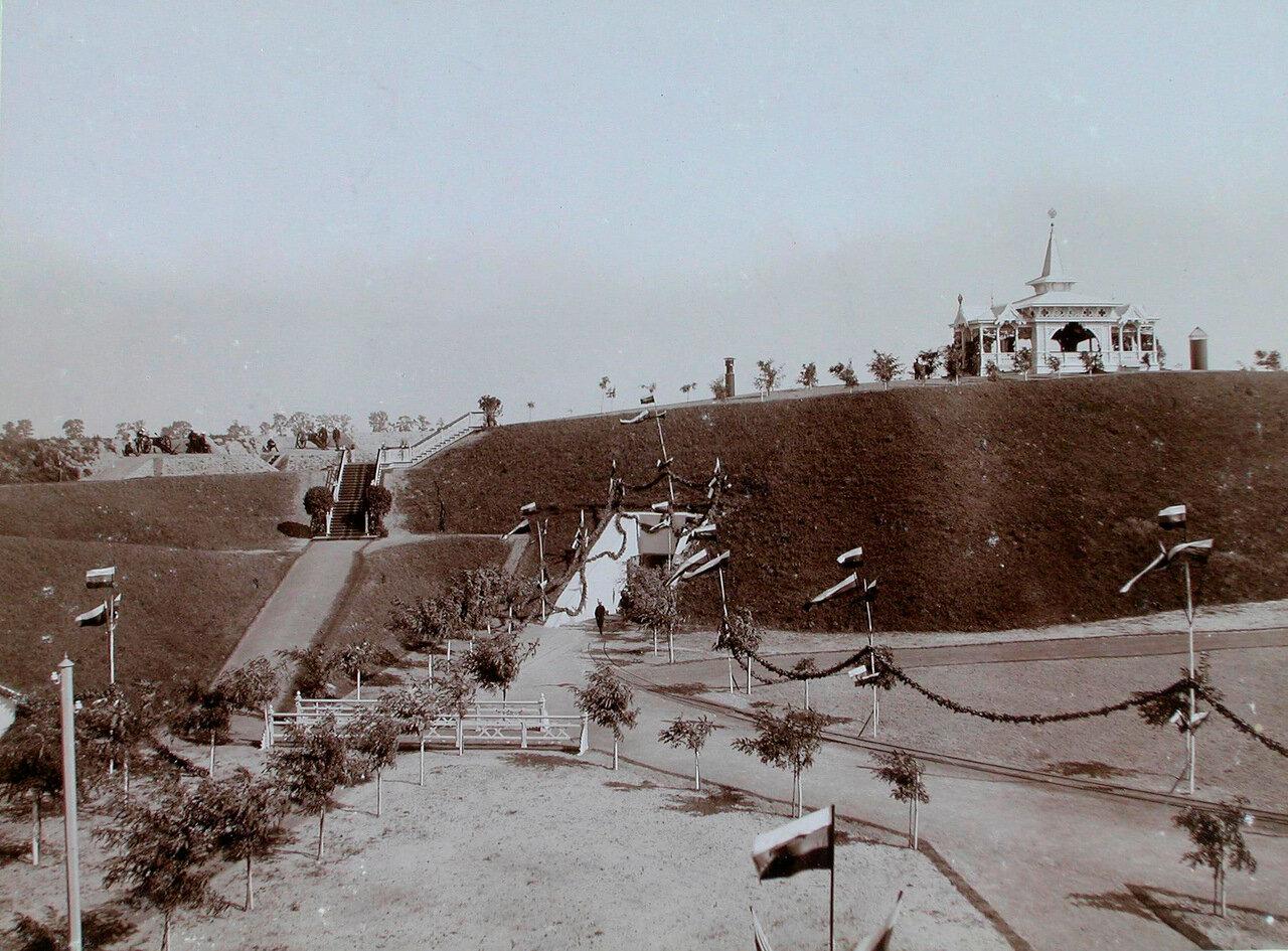 25. Вид части Большого форта