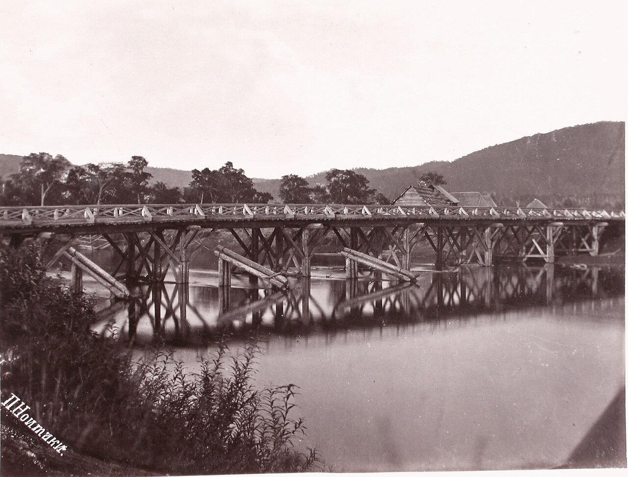 38. Мост через реку Большая Тымь. Село Дербинское