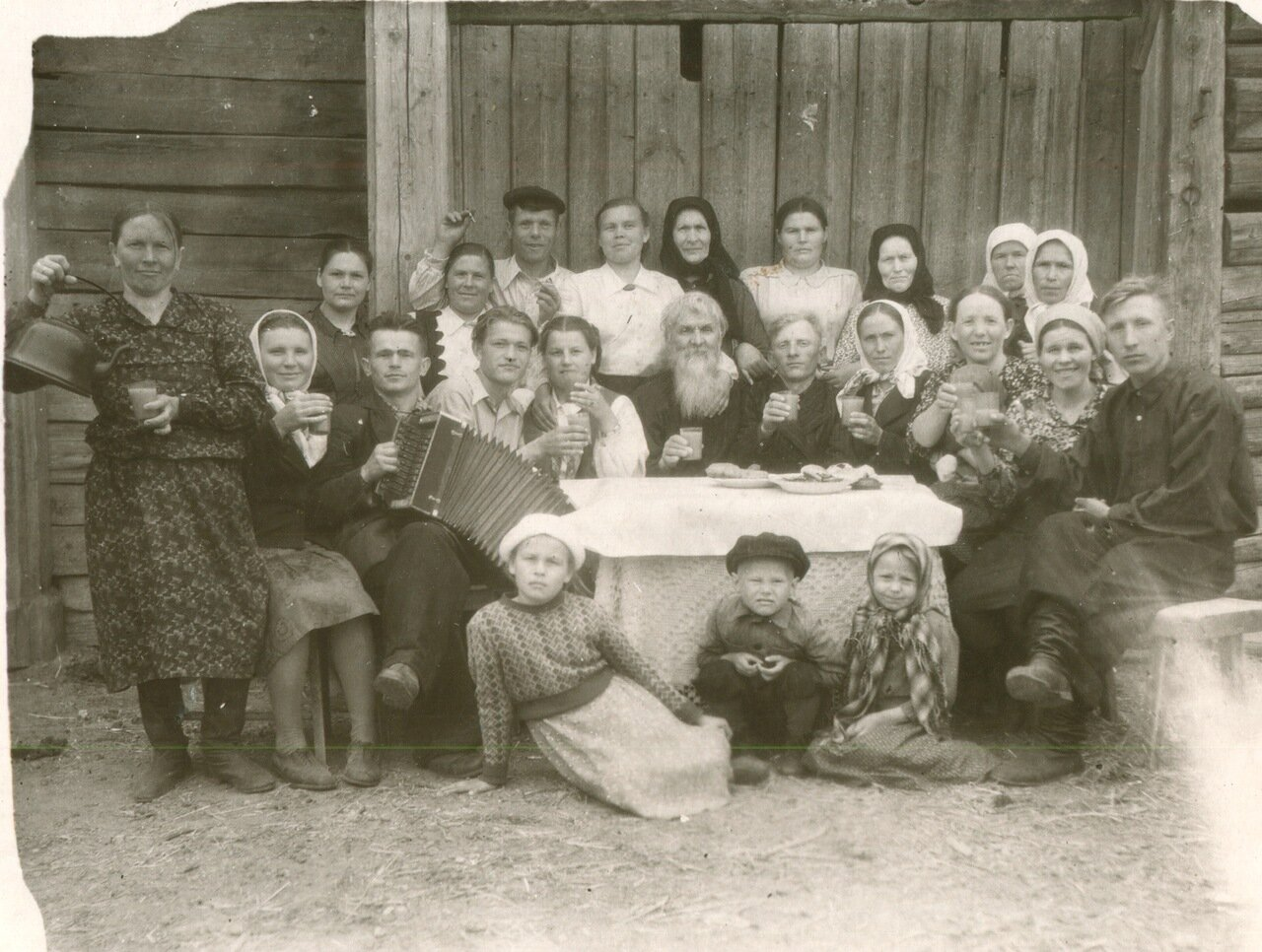 Русская свадьба старинное фото