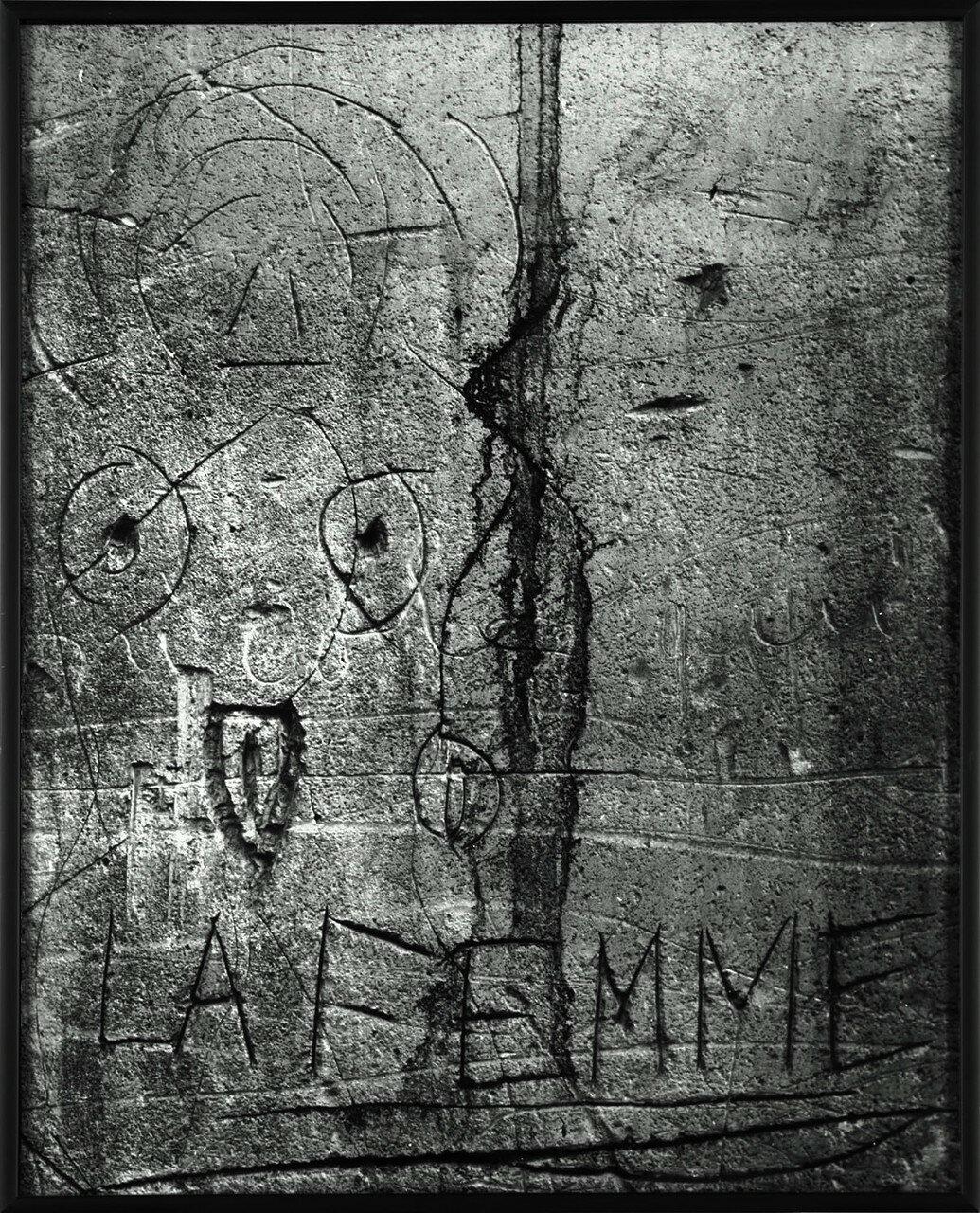 1930. Граффити. Серия VI Любовь. Женщина. (проход Прево)