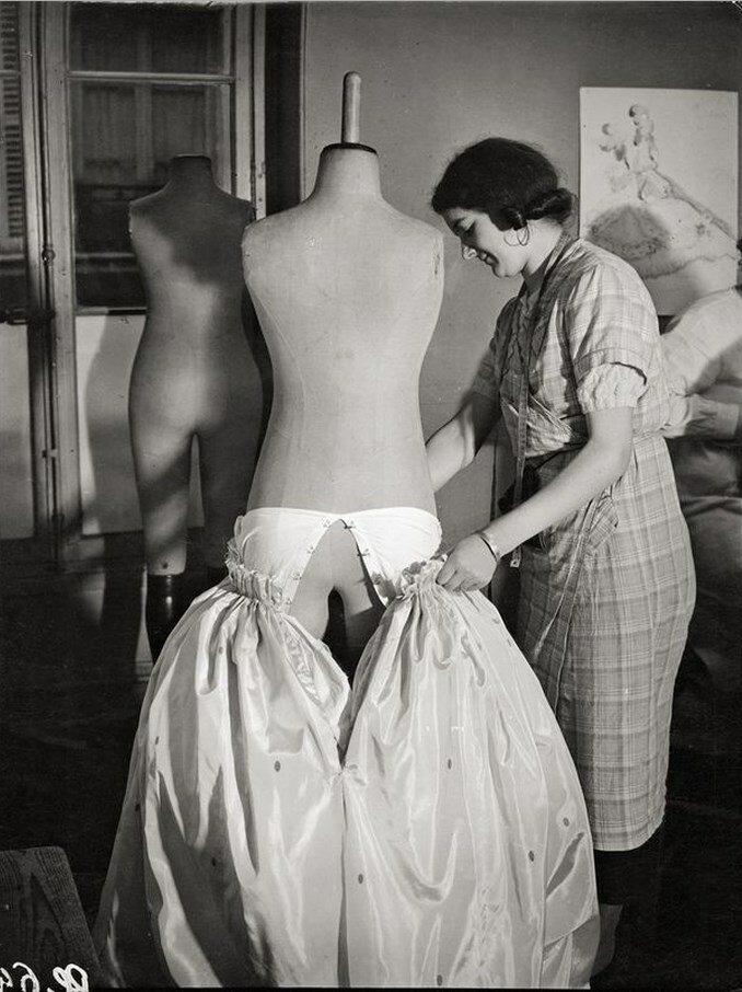 1930. Модное ателье