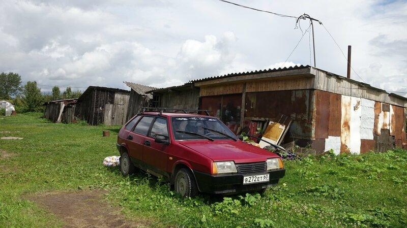 Заброшенный совхоз Псковской области