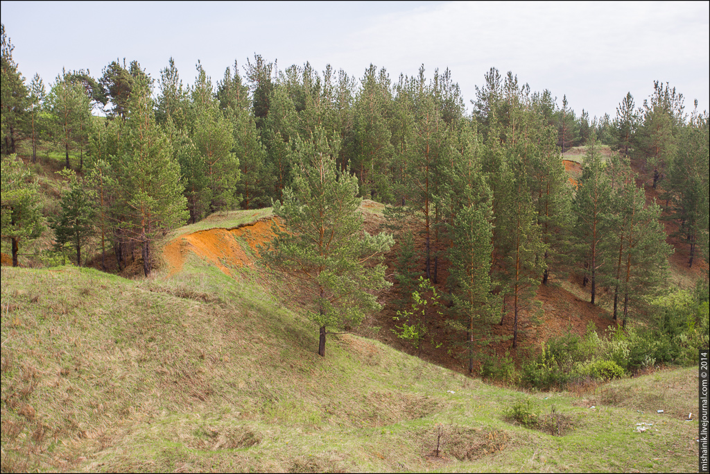 Рудник «Средние Ямы» Алапаевское железорудное месторождение