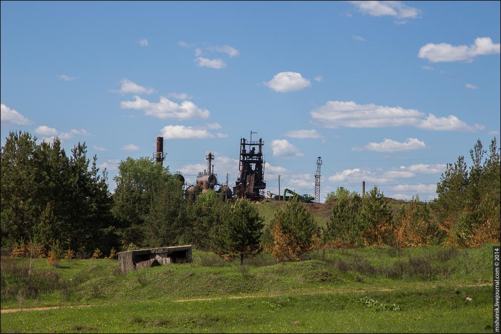 Чехомовские рудники Верхняя Синячиха