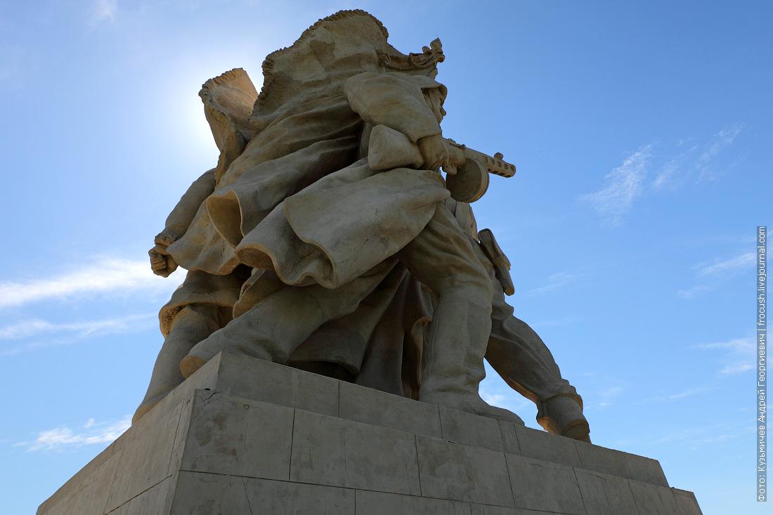 ВДСК Пятиморск памятник «Соединение фронтов»