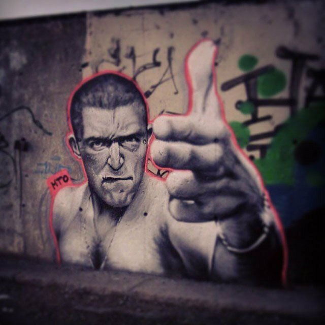 Street Art Portraits by MTO