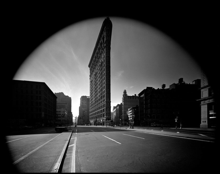 USA. New York City. Flat Iron Building. 1969.jpg