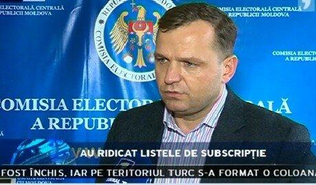 Начался сбор подписей за проведение референдума в Молдове