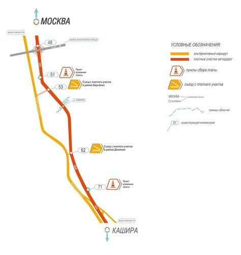 М4 ДОН 48 км 71 км Московская