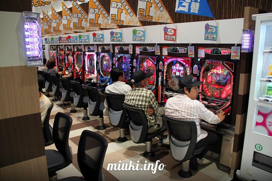 Игровые автоматы в Японии