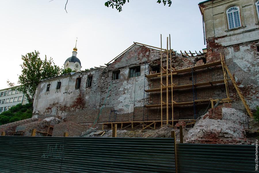 реставрация монастыря саров