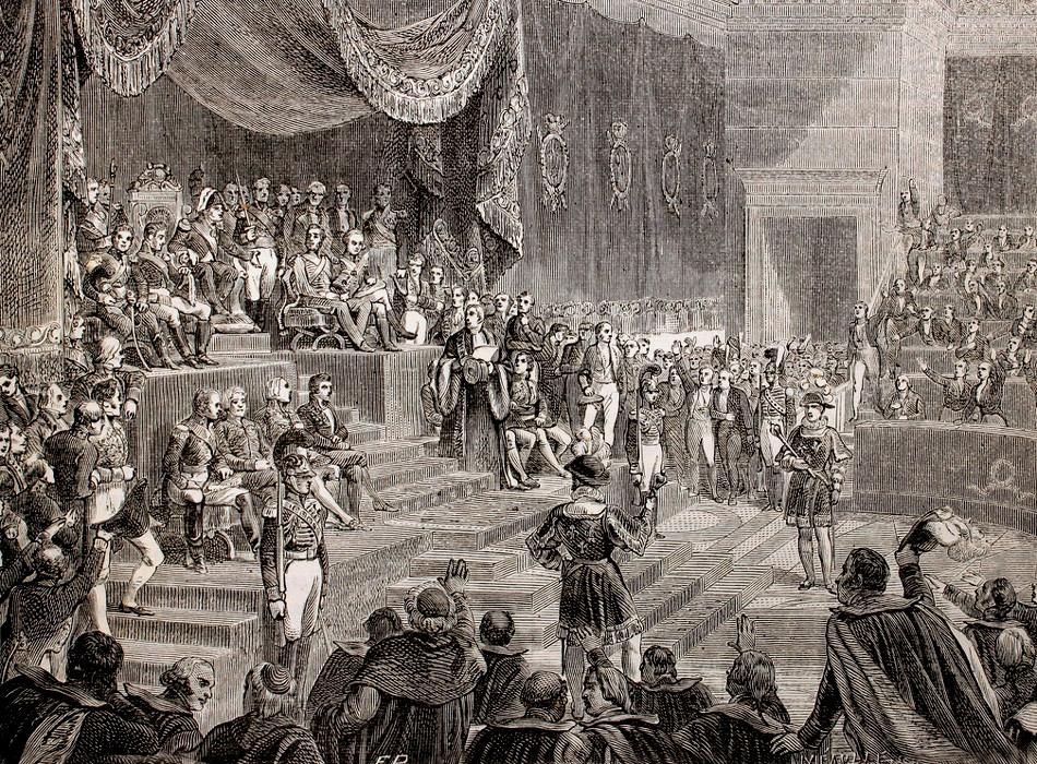 54 Sesion regia del 4 de junio de 1814 en el palacio de Borbon.jpg