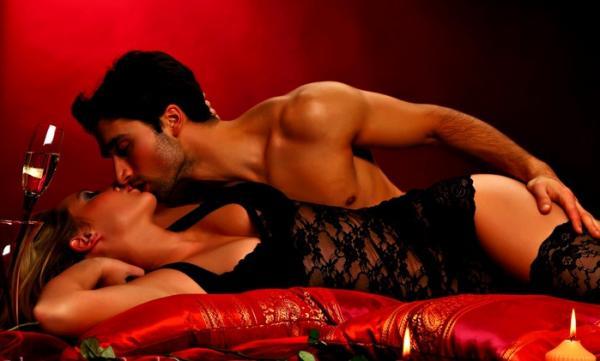 Романтический вечер секс