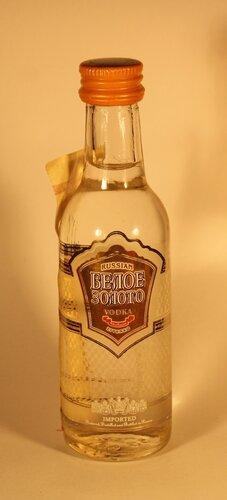 Водка Белое Золото Imported Russian Vodka Zivenko