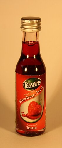 Сироп Teisseire Strawberry Fraise