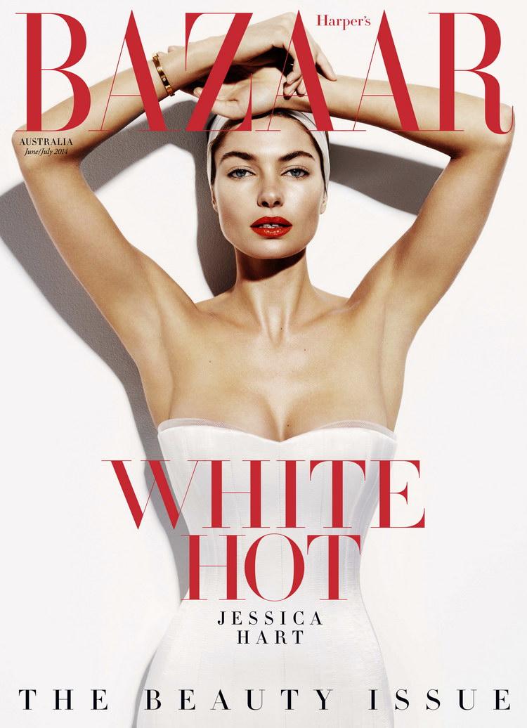 Джессика Харт для Harper's Bazaar Australia