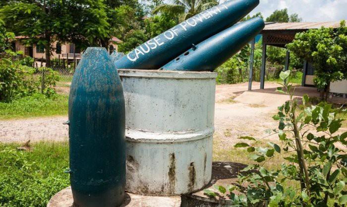 Лаосские опасные находки