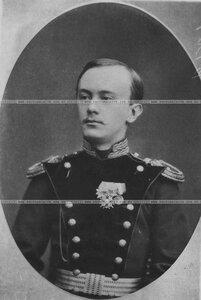 Подпоручик бригады в мундире (портрет).