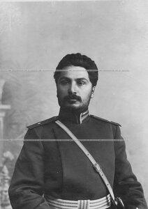Портрет подхорунжего полка, корнета армейской кавалерии Патканвяна.
